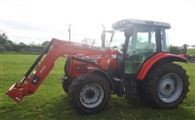 MF 5455 Tractor & Loader