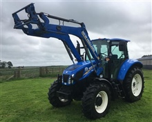New Holland T5.115 & Stoll Front Loader